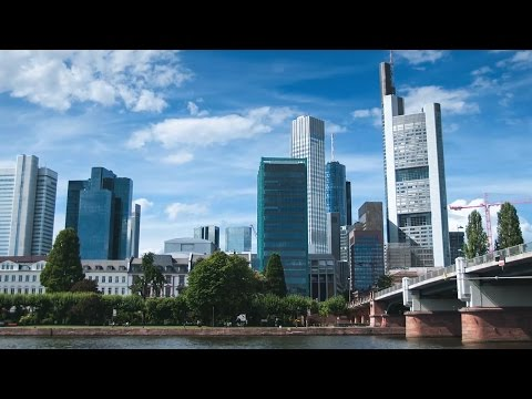 Living in Frankfurt. Working for the ECB