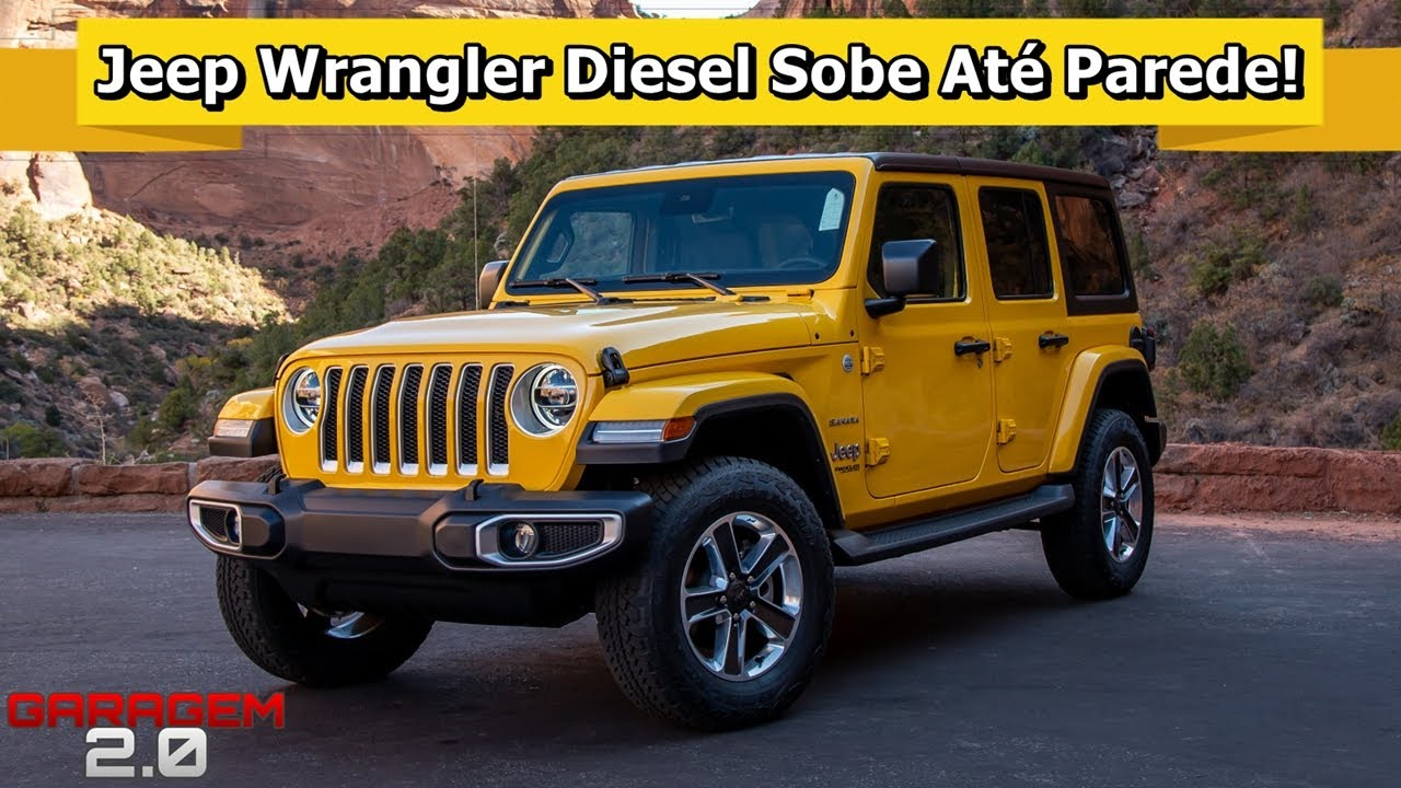Novo Jeep Wrangler Diesel Agora Ele E Imbativel Youtube