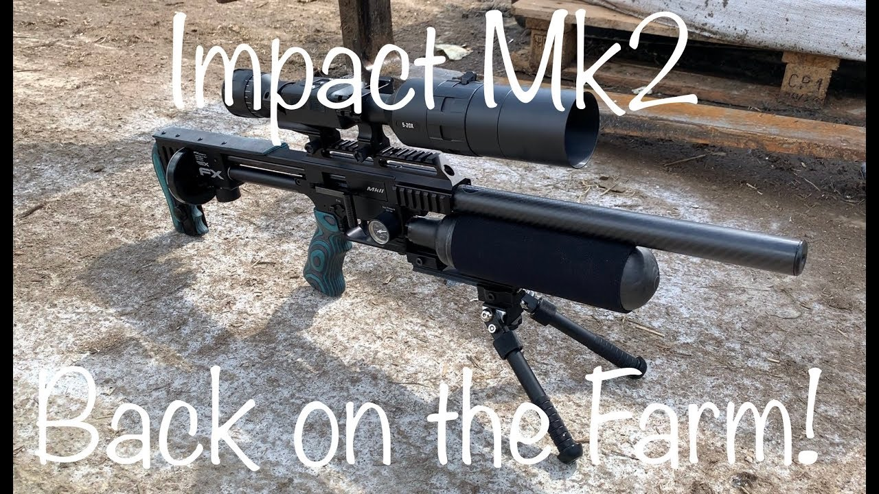 #7 FX Impact Mk2-Back on the Farm! (Just a quickie!)