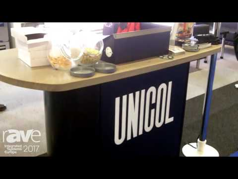 ISE 2017: Unicol Highlights Canterbury Lecturn Furniture