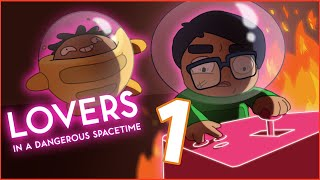 Lovers in a Dangerous Spacetime Ep. 1 | Disintegrating Rabbits Together