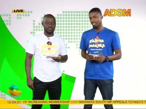 Kejetia Vs Makola Lawyers turns Newscasters - Premotobre Kasee (3-7-17)