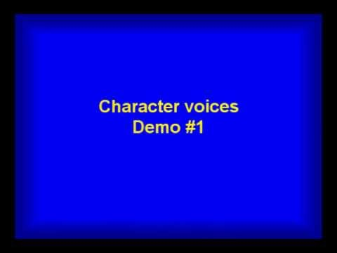 Character Voices by Oliver Quinn