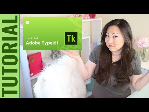 How To Install Adobe Typekit Adobe Fonts - Adobe InDesign Tutorial