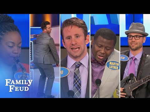 2015's Top 5 Contestant Performances! | Family Feud