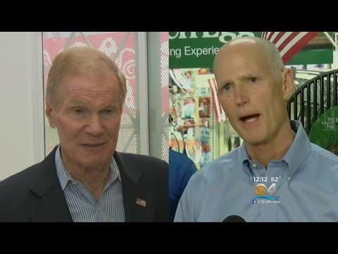 Bill Nelson, Rick Scott Square Off In Florida Senate Debate