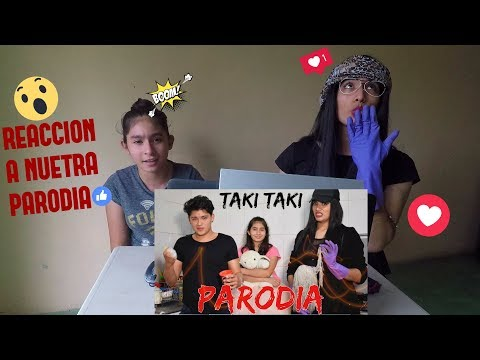 ¡Reacción a nuestra Parodia de Taki taki | SHEYLA MEJIA | MIA SANCHEZ