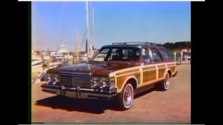 '79 Chrysler LeBaron Town & Country Commercial (1978)