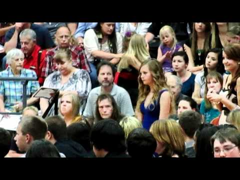Dani Storey Graduates from Shasta Middle School