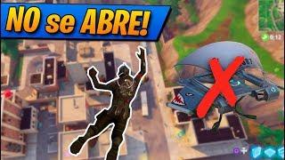 NO se ABRE el PARACAÍDAS!! Fortnite: Battle Royale