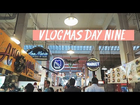 VLOG 122 | grand central market & angels flight (vlogmas)