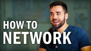The Right Way to Network With People