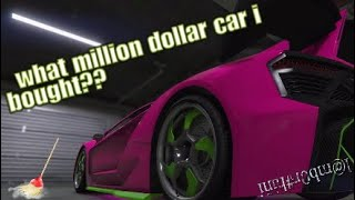 WHATS IN TREVOR'S GARAGE !!??\I BOUGHT A NEW CAR!!