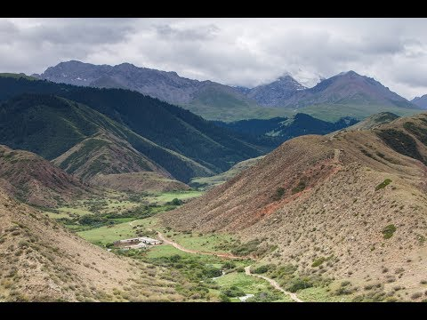 Hiking for Petroglyphs in the Countryside of Kyrgyzstan   Travel Vlog