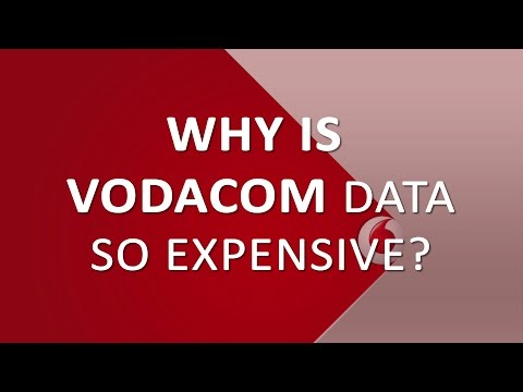 Why is Vodacom data so expensive?