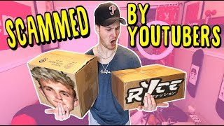 BUYING YOUTUBER MERCH Whos Is The BIGGEST SCAM JAKE PAUL VS RICE GUM