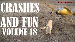 Crash compilation - Crash and fun vol 18 - RC PLANE CRASH`S & MISHAPS