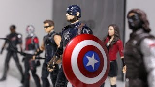 Captain America Civil War - Part 1: The Battle Begins (Stop Motion Film)