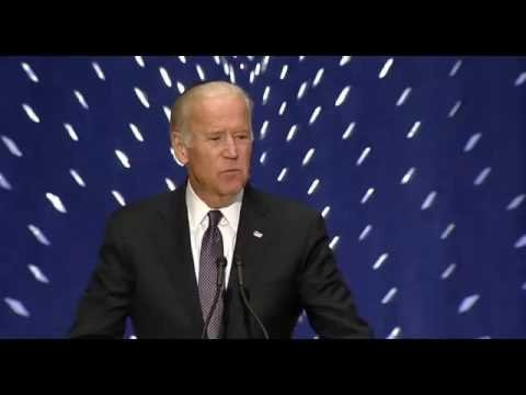 Joe Biden Delivers Remarks At Shimon Peres Memorial Service