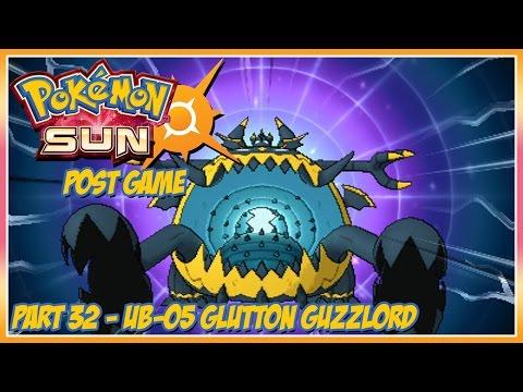 Pok̩mon Sun Walkthrough - Part 32: UB-05 Glutton Guzzlord (post game)