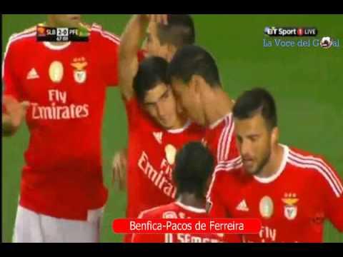Benfica - Pacos de Ferreira 3-0 - YouTube