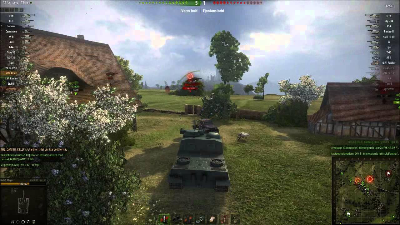 tank spil