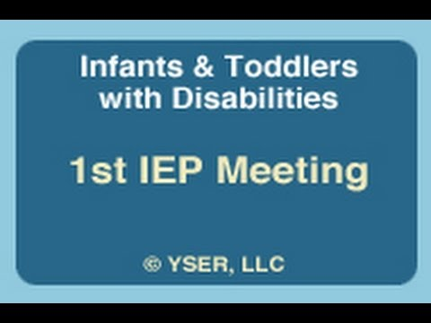 Understanding an IEP for the Child