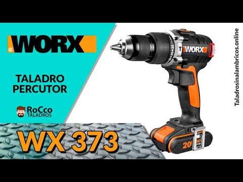 WORX WX373 ✔️ Mejor Taladro Percutor 20v