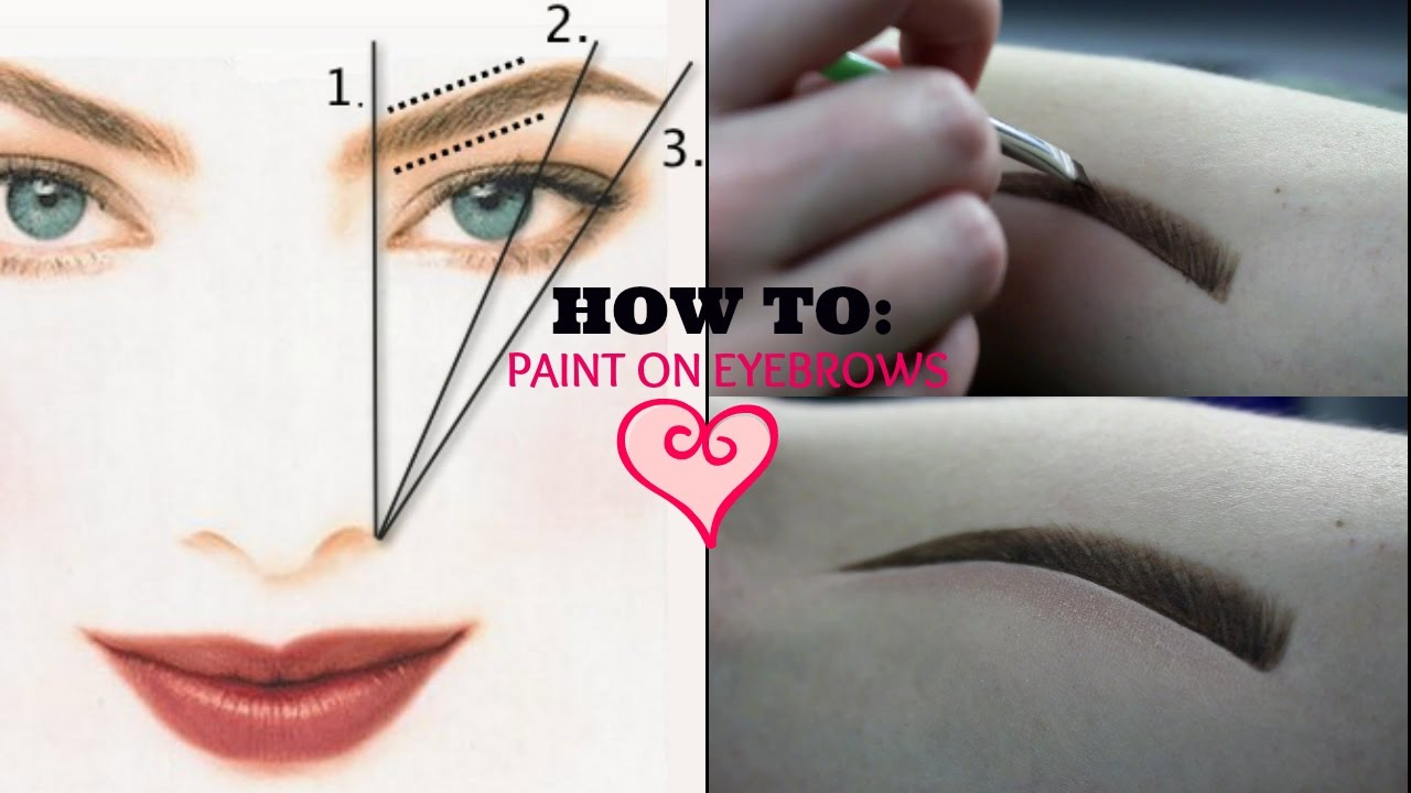How To Draw Eyebrows After Chemo