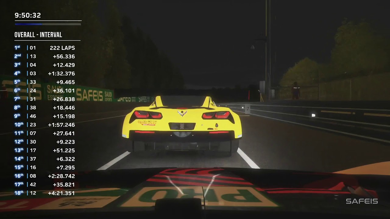 24 Hours of Le Mans Virtual: REPLAY Hour 15