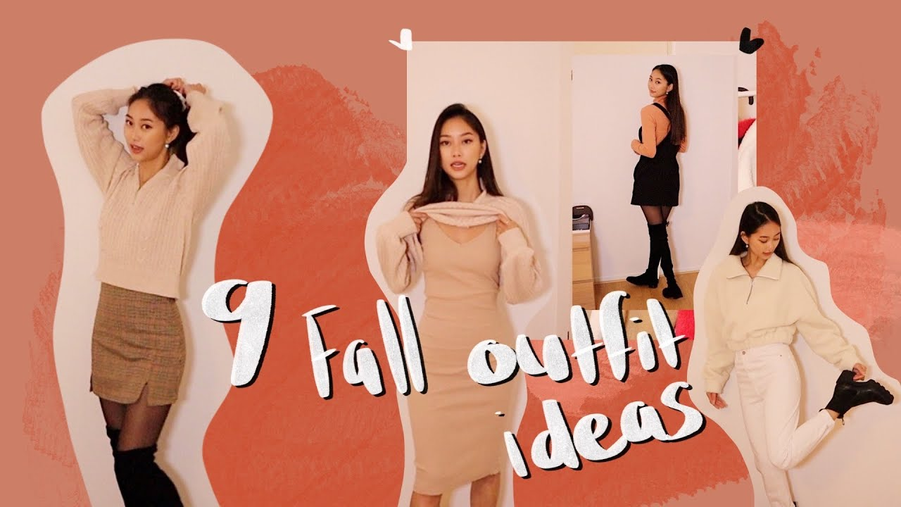[VIDEO] – 9 Fall Outfit ideas 🍂