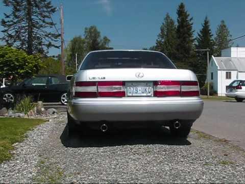 Lexus ls400 custom exhaust youtube publicscrutiny Image collections