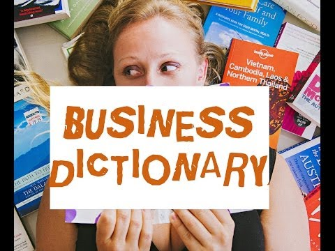 Business Dictionary - 7 Definitions