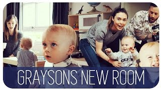 GRAYSONS NEW ROOM | HANNAH MAGGS