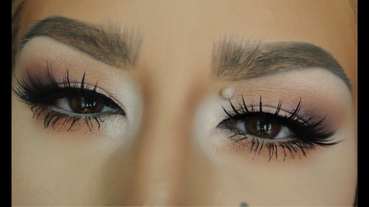 79fb75aaf26 Glamorous Eye Look (Cloudy Day) NEW KISS LASHES! - YouTube