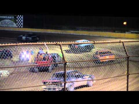 Tommy Styer Pure Stock Win - Hendry County Speedway