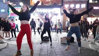 2018.10.15&걷고싶은거리&홍대&유가네닭갈비앞&버스킹&레드스파크&by큰별