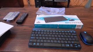 Обзор беспроводная клавиатура и мышь Logitech Wireless Combo MK240