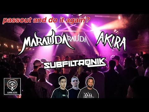 MARAUDA, Subfiltronik & AKIRA | Live @ Home The Venue, Sydney 2019