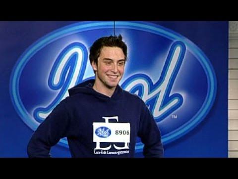 Måns Zelmerlöws first audition ever - Swedish Idol 2005