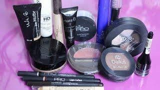 Como Montar Kit Básico de Maquiagem com Produtos Nacionais e Baratinhos  - Por Jéssica Freitas