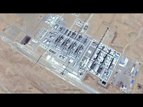 Google Earth - Around the World's Oil Fields