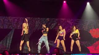 190713 Blackpink Encore in BKK DAY2 - Kiss and Make Up (mostly ROSÉ )