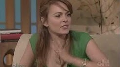 Lindsay Lohan Ellen Degeneres 2004