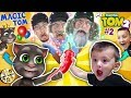 MY TALKING TOM 2 turns us OLD In Real Life! (FGTEEV Magic Game Skit)