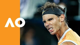 The bull against the young stud: Rafa prevails against Tiafoe | Australian Open 2019