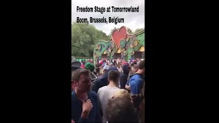 Tomorrowland | Freedom Stage, Day 3, Tomorrowland -2017 l Travel Vlogs