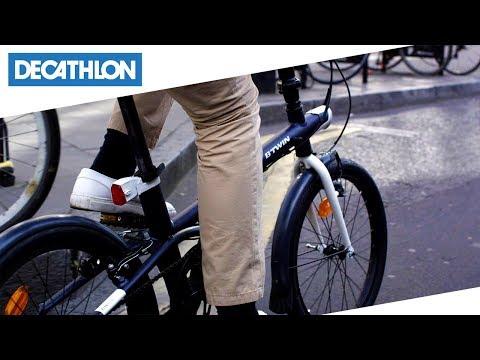 Btwin Decathlon Bici Pieghevole.Bici Pieghevole Tilt 500 B Twin Decathlon Italia Youtube