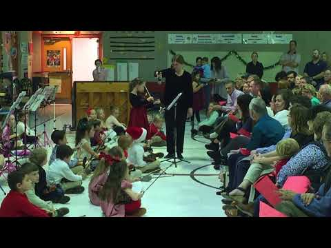 Solo: Ode to Joy - Sarah's Christmas String Concert 2017 - Pontchartrain Elementary School