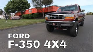 1997 Ford F350 XLT 4X4 For Sal…